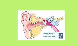 Examination of the ear