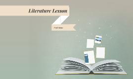 Cópia de Literature Lesson