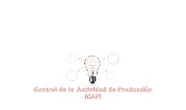 Control de la Actividad de Producción (CAP)