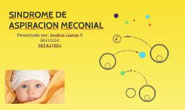 SINDROME DE ASPIRACION MECONIAL
