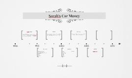 Sarah's Car Money