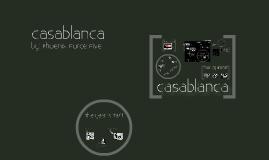 Copy of Casablanca Presentation