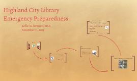 Emergency Preparedness 2013