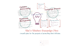 Kim's Kitchen Campaign Plan