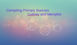 Compiling Primary Sources