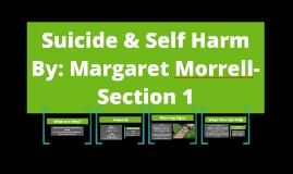 Suicide & Self Harm