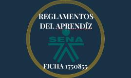 REGLAMENTOS DEL APRENDÍZ