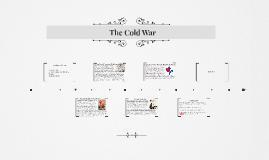 Unit Three Project: The Cold War