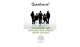 Copy of Organizational Concepts - Group