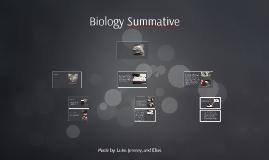 Biology Summative