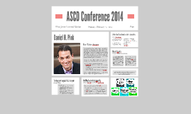 ASCD Conference 2014