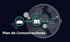 Plan comunicaciones