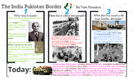 The India Pakistan border poster