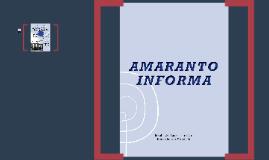 AMARANTO INFORMA (UNIDAD ESCULTA)