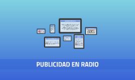 PUBLICIDAD EN RADIO