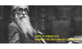 LUCES DE BOHEMIA 1920 RAMÓN Mª DEL VALLE-INCLÁN (1866-1936)