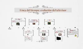 Copy of Línea del tiempo: evolución del televisor