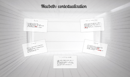Macbeth: contextualization