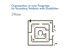 Organization at your Fingertips for Secondary Students with Disabilities