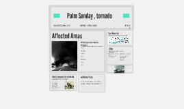 Palm Sunday , tornadoe