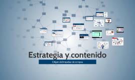 Estrategia y contenidos