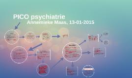 PICO psychiatrie