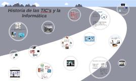 Copy of Historia de las TIC's y la Informatica