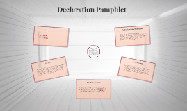 Declaration Pamphlet