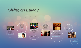 Giving an Eulogy Tips