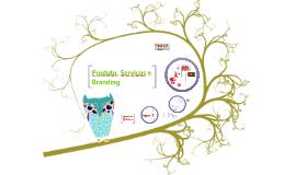 Produto, servico e branding