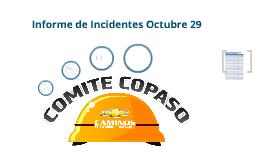 Informe sobre eventos de seguridad industrial