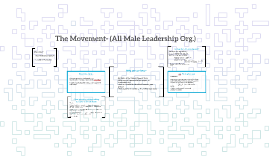 The Movement- (All Male Leadership Org.)
