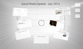 Social Media Update - July 2014