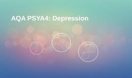AQA PSYA4: Depression
