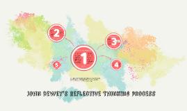 Copy of John Dewey's Reflective THinking process