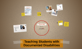 Teaching Students with Documented Disabilities