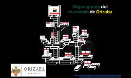 Organigrama del muncipio de Orizaba