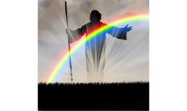 Toda vez que o arco-íris estiver nas nuvens, olharei para el