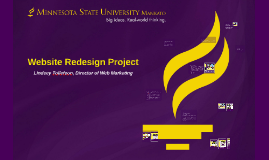 Minnesota State Mankato Website Redesign