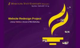 Minnesota State Mankato Website Redesign