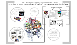 Eurobot 2008 - Autonóm működésű robot tervezése és működése