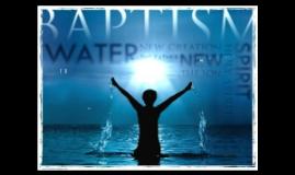 SOR ~ Baptism