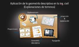 Ingenieria civil & Geometria descriptiva