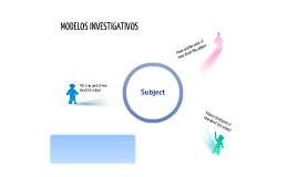 modelos investigativos