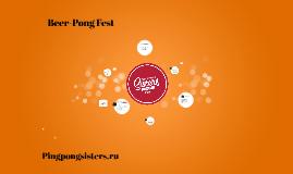 Beer - Pong Fest