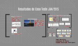 Apresentação dos Resultados do Caso Teste