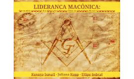 LIDERANÇA MAÇÔNICA - ENANPAD 2014