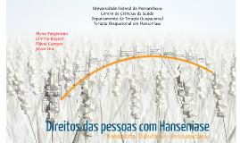 Copy of Direitos das pessoas com Hanseniase