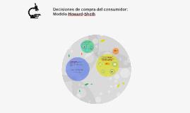 Decisiones de compra del consumidor: Modelo Howard-Sheth