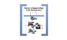 Explore Le Moyne